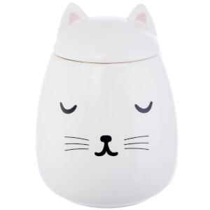 Sass & Belle Cutie Cat Storage Jar