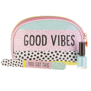 Sass & Belle Memphis Modern Good Vibes Cosmetic Bag from I Want One Of Those