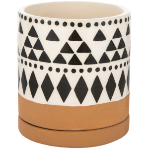Sass & Belle Scandi Boho Tribal Geo Mini Planter