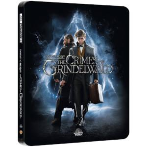 Animales fantásticos: Los crímenes de Grindelwald 4K UHD (incluye Blu-ray) - Steelbook