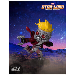 Statuette animée Star-Lord des Gardiens de la Galaxie de Marvel (10 cm) – Gentle Giant