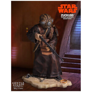 Gentle Giant Star Wars Collectors Gallery Zuckuss 9in Statue