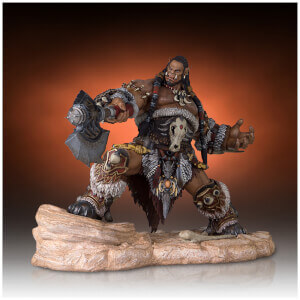 Statuette de collection Durotan, Warcraft (2016), échelle 1:6 (30 cm) – Gentle Giant