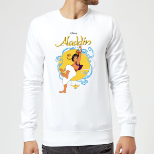 Disney Aladdin Rope Swing Sweatshirt - White