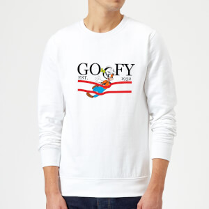 Disney Goofy By Nature Sweatshirt - Weiß