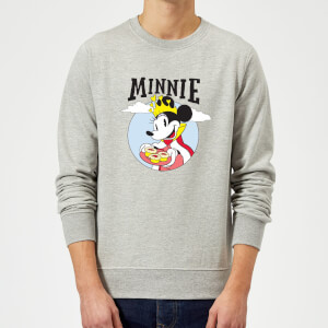 Disney Mickey Mouse Queen Minnie Sweatshirt - Grey