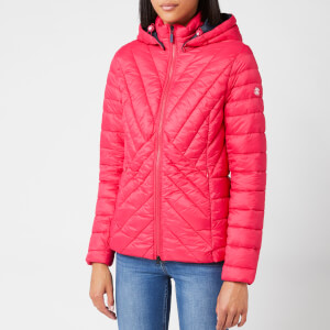 Barbour Women's Rowlock Quilt Coat - Lobster/Navy
