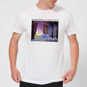 Disney Sleeping Beauty I'll Be There In Five Men's T-Shirt - White