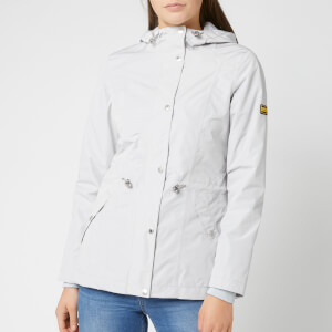 Barbour International Women's Val Thoren Jacket - Ice White