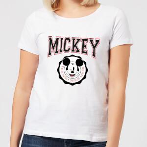 Disney Mickey New York Women's T-Shirt - White
