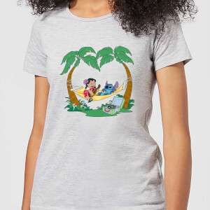 Disney Lilo & Stitch Play Some Music dames t-shirt - Grijs
