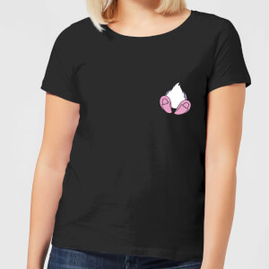 Disney Daisy Duck Backside Women's T-Shirt - Black
