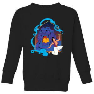 Disney Aladdin Cave Of Wonders Kids' Sweatshirt - Black