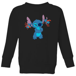 Felpa Disney Lilo And Stitch Little Devils - Nero - Bambini