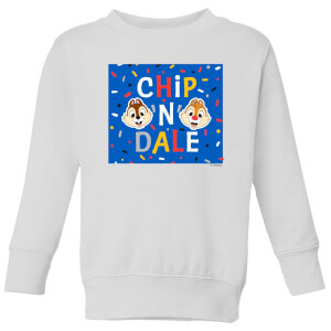 Disney Chip N' Dale Kids' Sweatshirt - White
