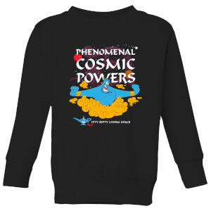 Disney Aladdin Phenomenal Cosmic Power Kinder Sweatshirt - Schwarz