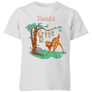 Disney Bambi Tilted Up Kids' T-Shirt - Grey