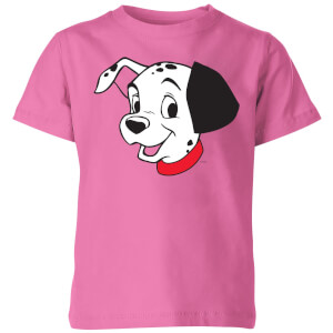 Disney 101 Dalmatians Head Kids' T-Shirt - Pink