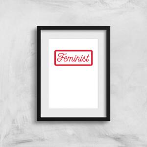 Feminist Art Print