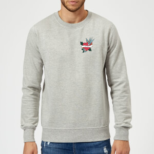 Mom Heart Sweatshirt - Grey