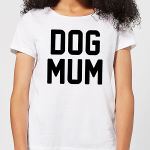 Dog Mum Women's T-Shirt - White