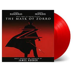 James Horner - Mask Of Zorro (Soundtrack) 2lp (BEPERKT ROOD, 750 stuks)