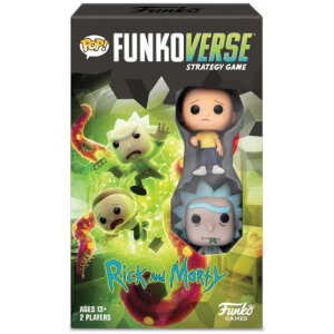 Funkoverse Rick & Morty Strategy Game (2 Pack)