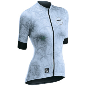 Northwave Butterfly Short Sleeve Jersey - Light Blue