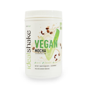 IdealShake Mocha Vegan Meal Replacement Shake - 30 Servings