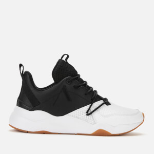 ARKK Copenhagen Men's Asymtrix Mesh F-PRO90 Trainers - Black/White/Gum