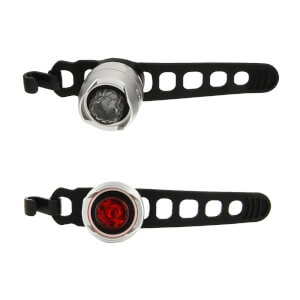 Cateye Orb Battery Front and Rear Light Set