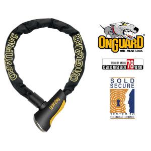 OnGuard Mastiff 8021 Bike Chain Key Lock - 180cm x 10mm