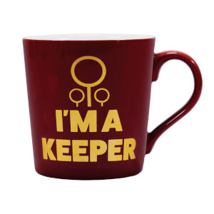Harry Potter I'm A Keeper Ceramic Mug from I Want One Of Those