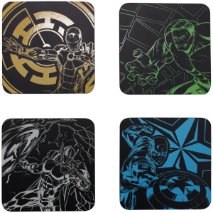 Marvel Avengers Coaster Set