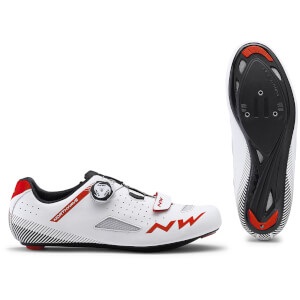 Northwave Core Plus Road Shoes - White/Red