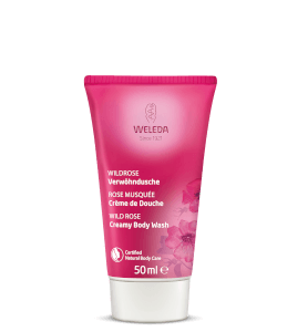 Weleda Vegan Wild Rose Body Wash 50ml (Free Gift)