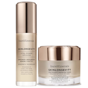 bareMinerals Glowing Skin Must Haves: Serum and Night Cream