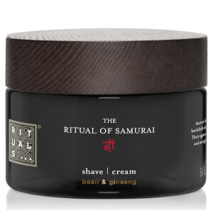 The Ritual of Samurai Shave Cream