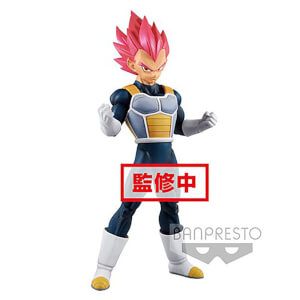 Banpresto Dragon Ball Super Movie Super Saiyan God Vegeta Statue