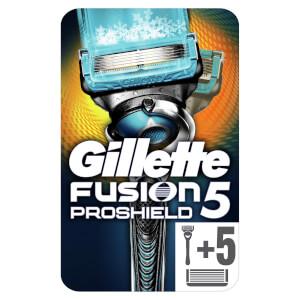 Gillette Fusion5 ProShield Chill Rasierer + 6 Rasierklingen