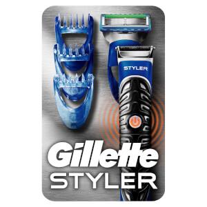 Gillette 3-in-1 Styler Barttrimmer, Rasierer & Definierer