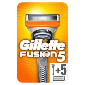 Gillette Fusion5 Rasierer + 6 Rasierklingen