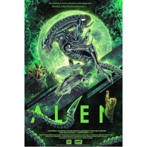 Póster Fine Art Giclée Alien - Exclusivo Zavvi