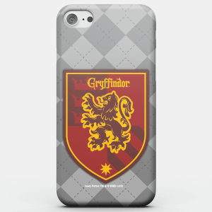 Cover telefono Harry Potter Phonecases Grifondoro Crest per iPhone e Android