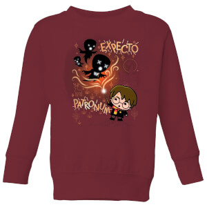 Felpa Harry Potter Kids Expecto Patronum - Burgundy - Bambini