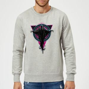 Harry Potter Dementor Neon Sweatshirt - Grey