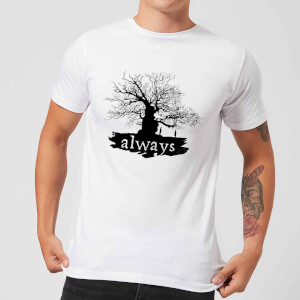 Harry Potter Always Tree Men's T-Shirt - White