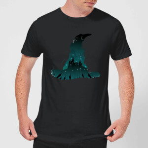 Harry Potter Sorting Hat Silhouette Men's T-Shirt - Black