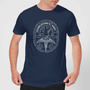 T-Shirt Harry Potter Dumblerdore's Army - Navy - Uomo