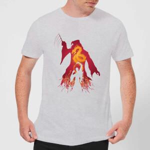 Harry Potter Dumbledore Voldemort Men's T-Shirt - Grey